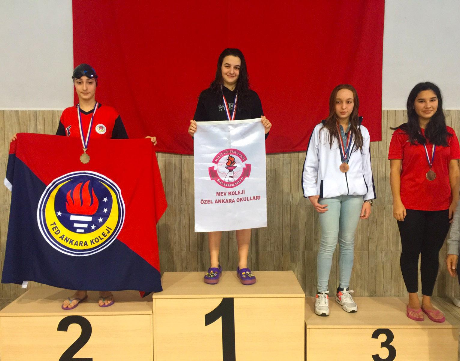Rekortmen Beste'den Bir Türkiye Şampiyonluğu Daha