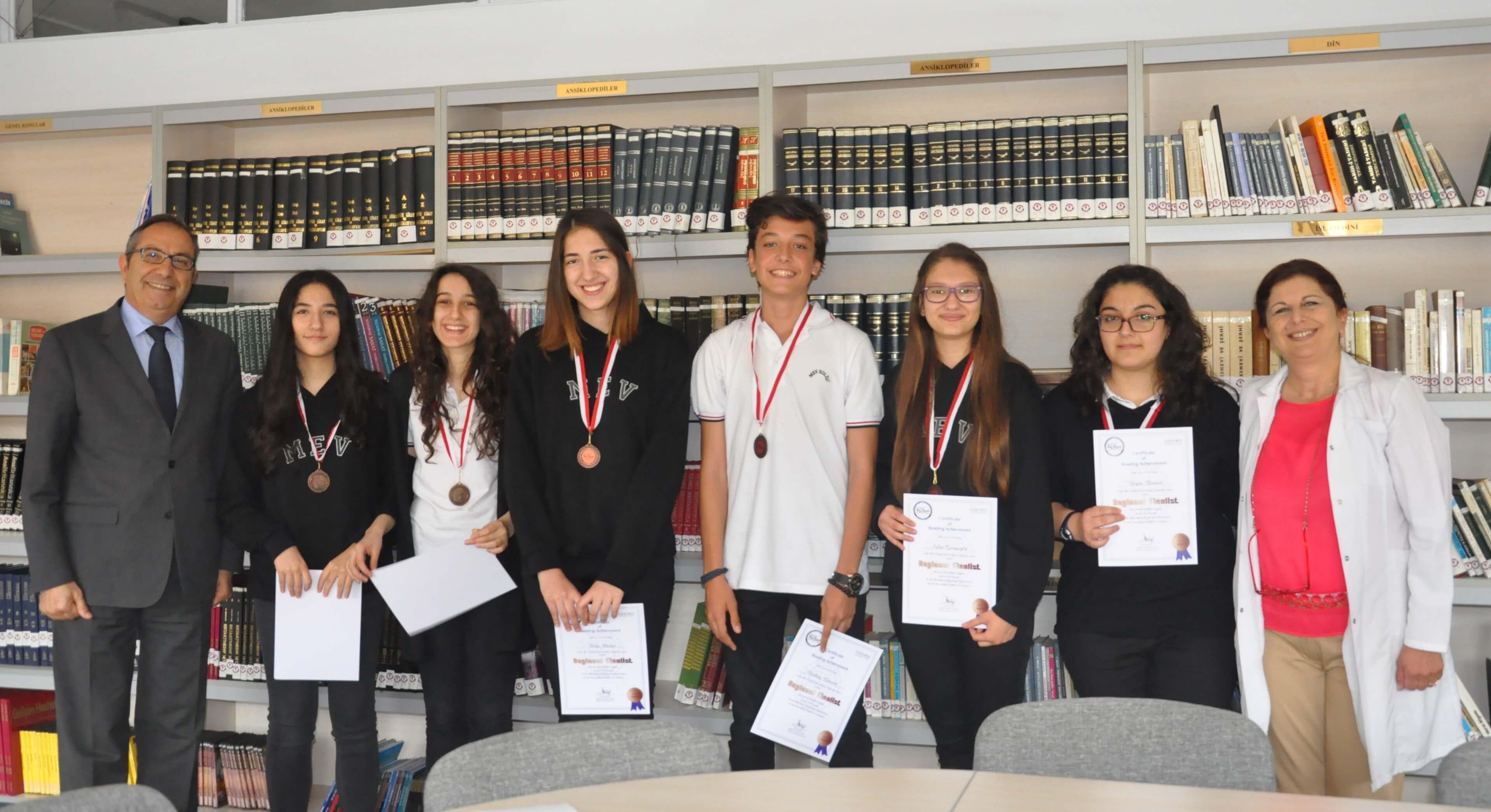 MEV Koleji Öğrencilerinin Yabancı Dil Başarıları