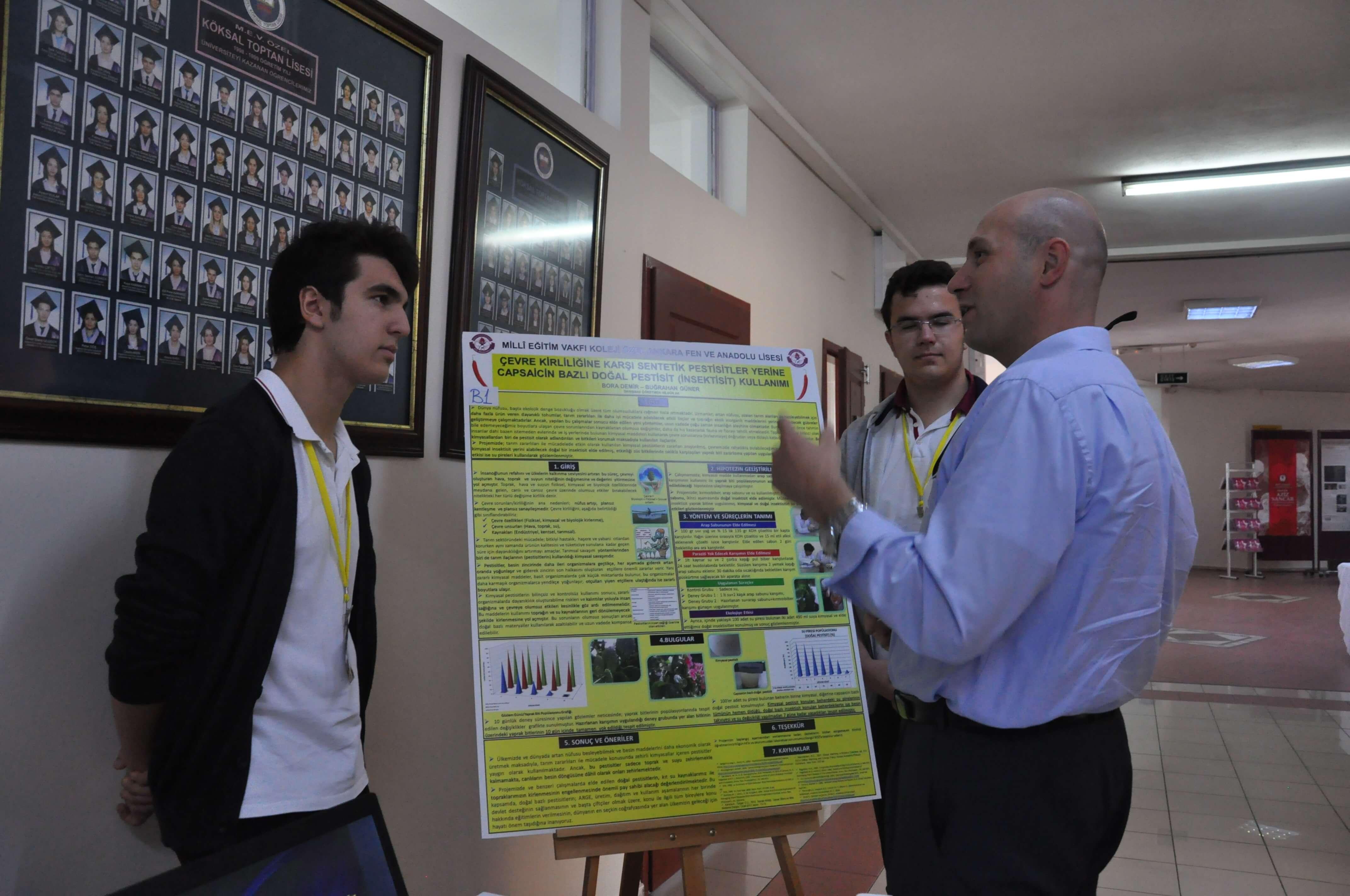 Prof. Dr. Aziz Sancar Fen Bilimleri Yarışması'nda Heyecan Dorukta