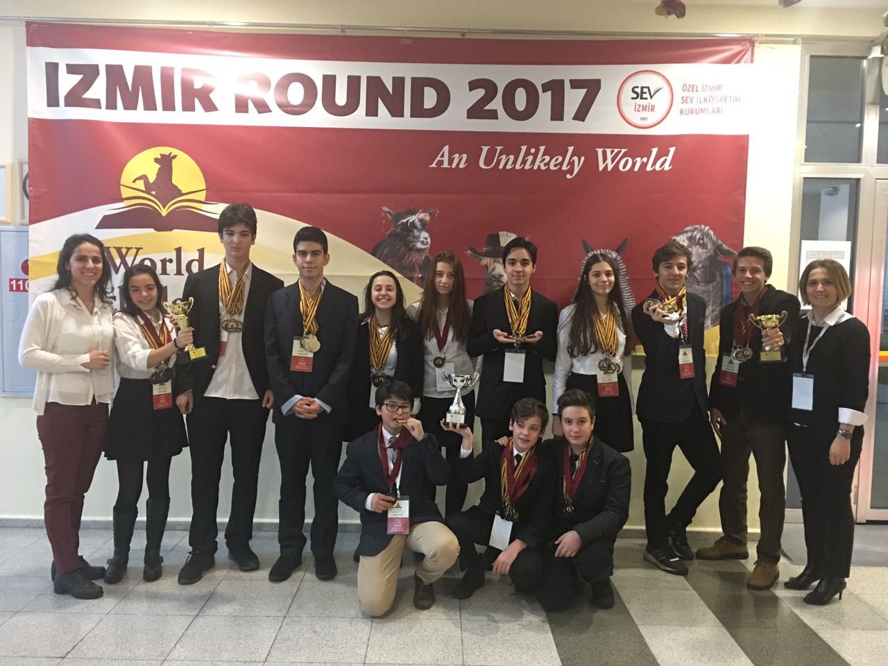 World Scholar's Cup Turnuvası'nda MEV Koleji Rüzgarı