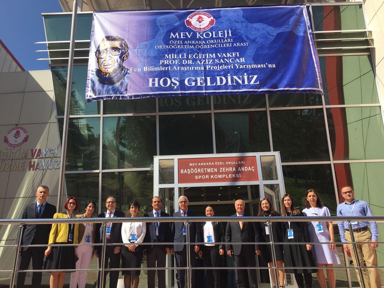 MillÎ Eğitim Vakfı Aziz Sancar Fen Bilimleri Araştırma Projeleri Yarışması Sonuçlandı