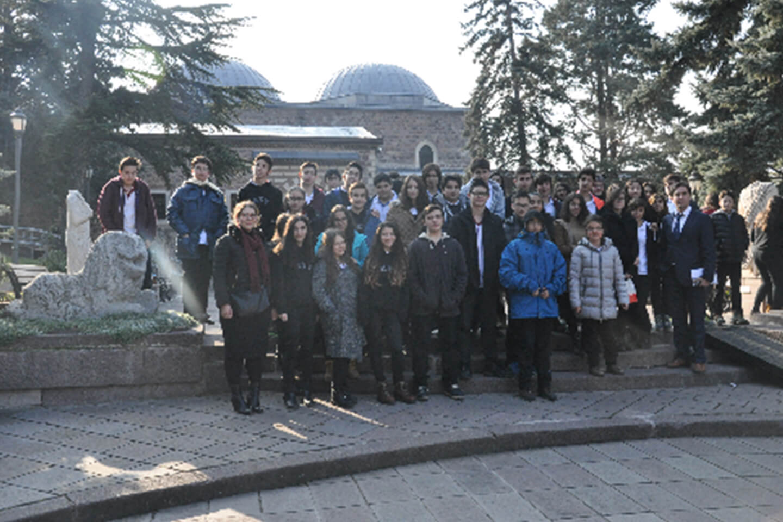 9. Sınıflarımız Anadolu Medeniyetleri Müzesi'nde