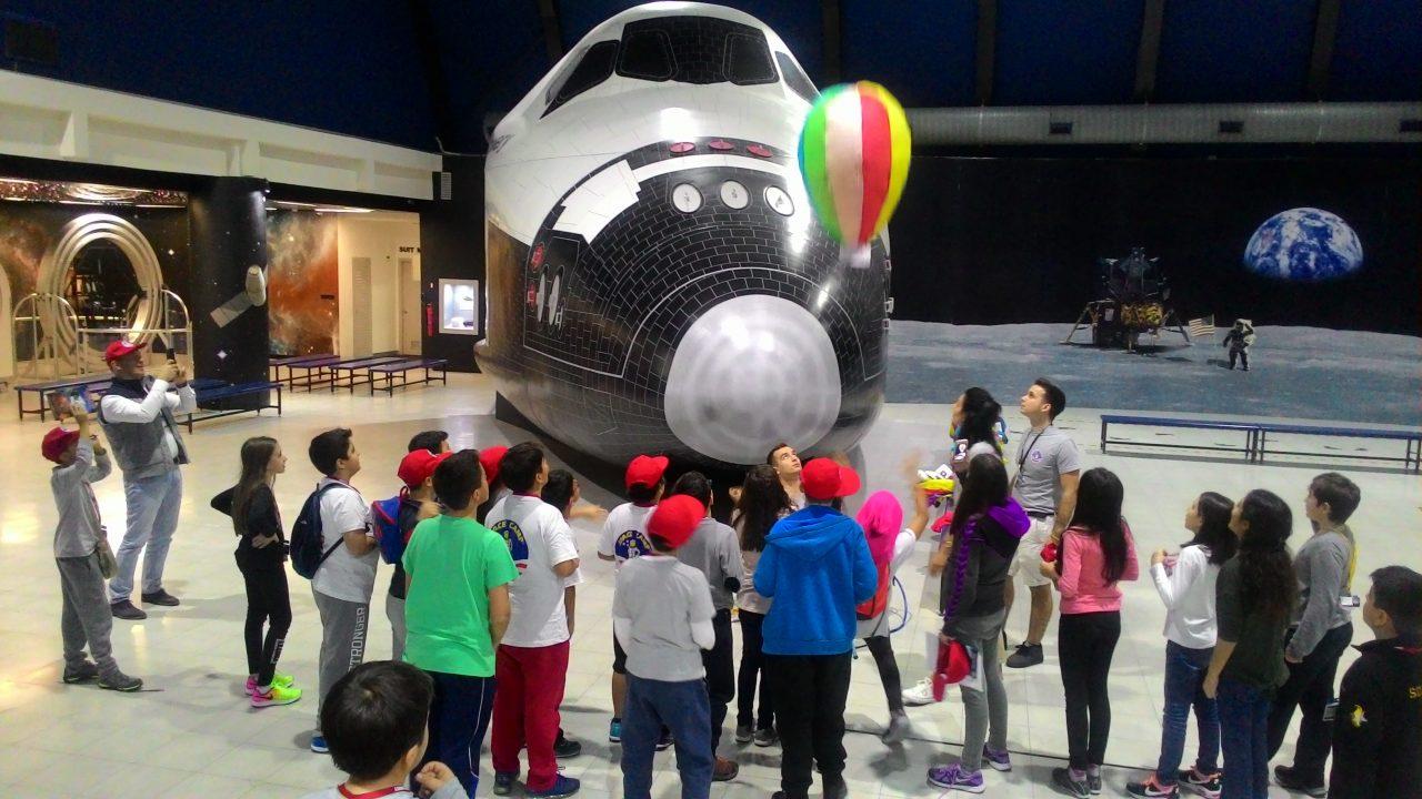 Öğrencilerimiz Uzay Kampı'nda