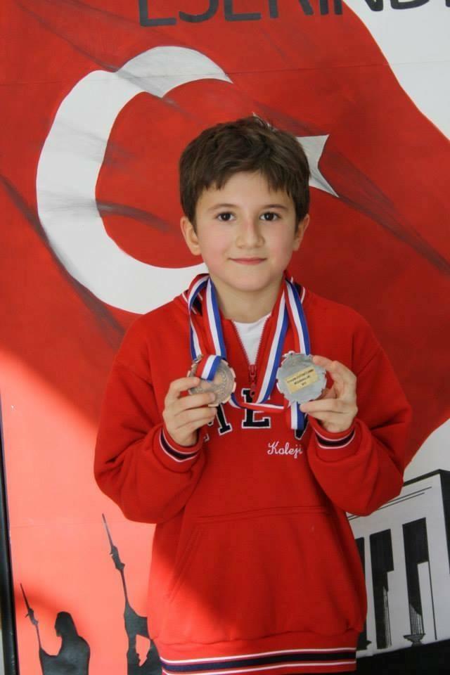 Yağız Kaan Türkiye 2.si