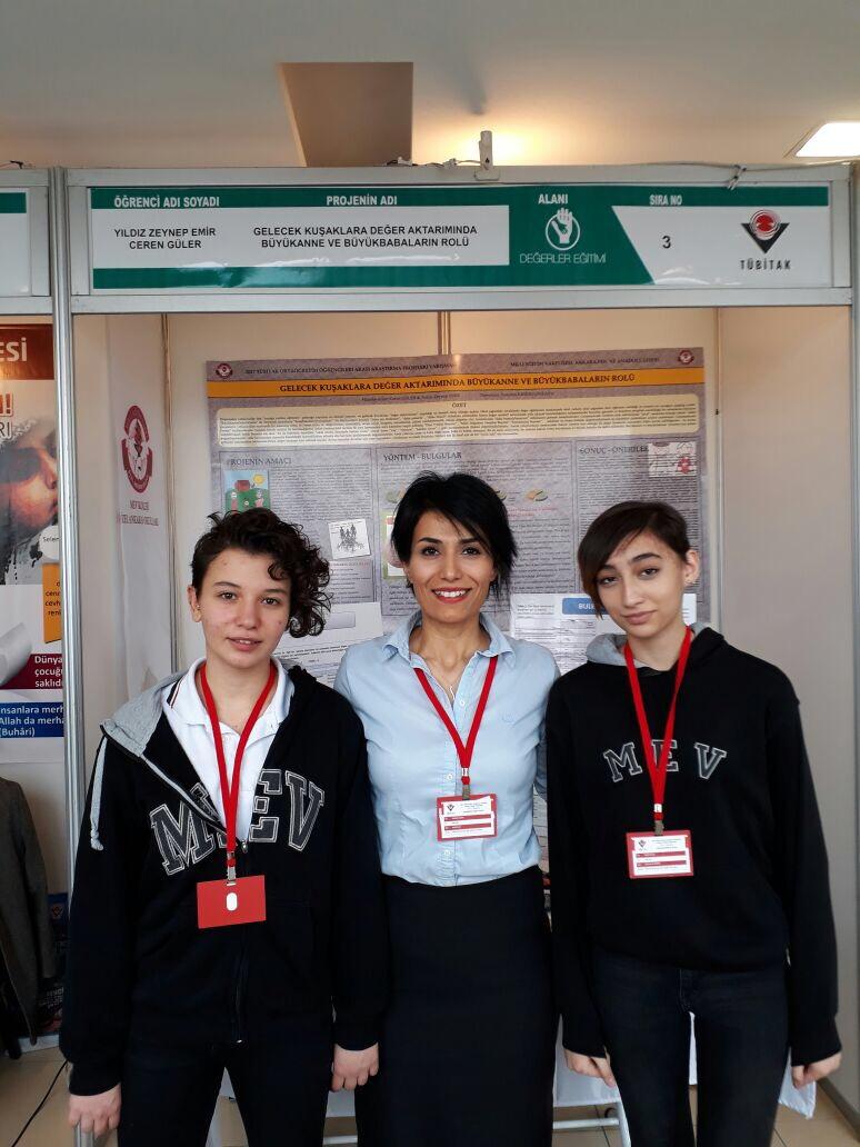 Sekiz Proje ile TÜBİTAK Ankara Bölge Finalindeyiz