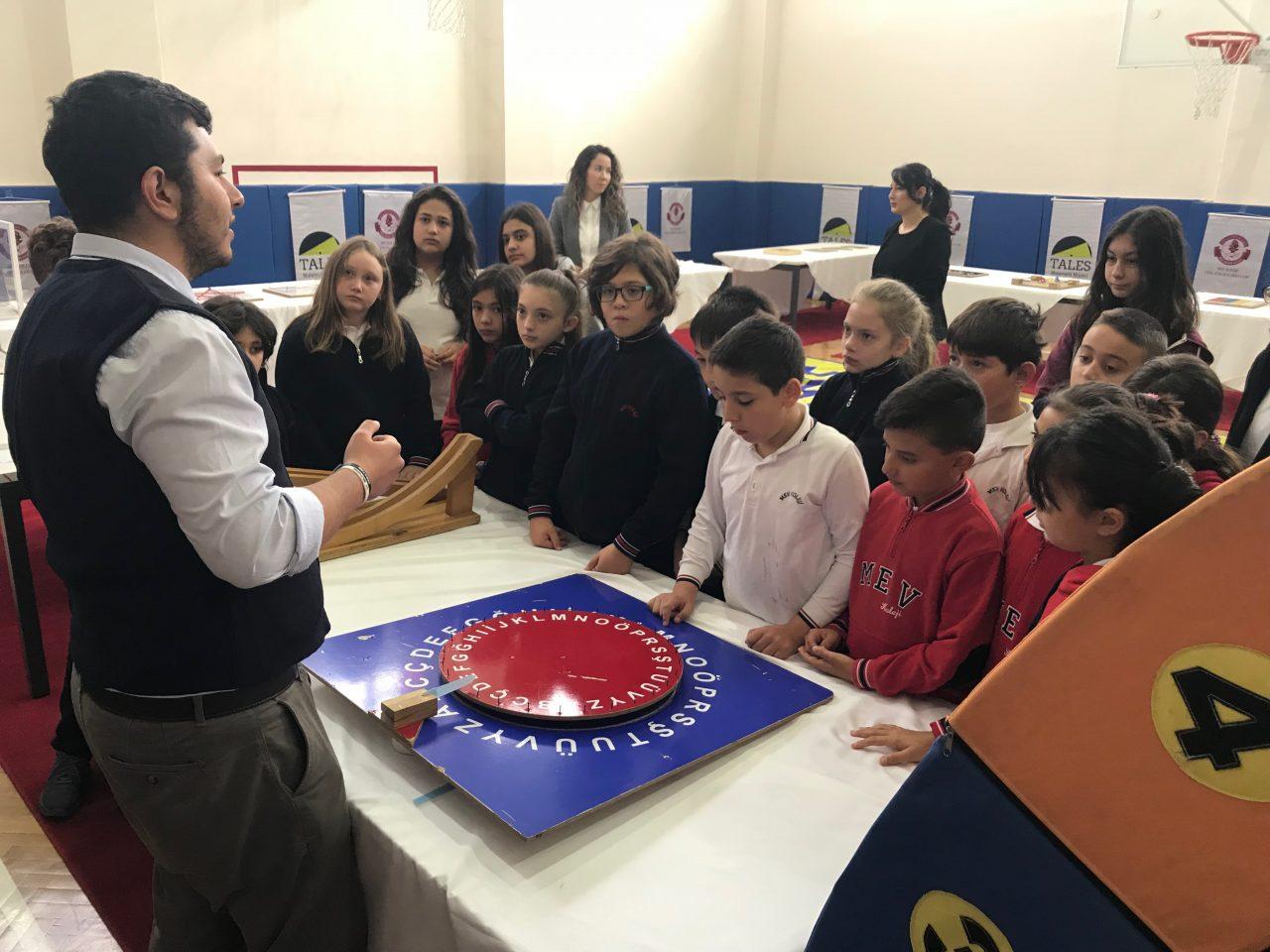 Tales Matematik Müzesi MEV Koleji'nde